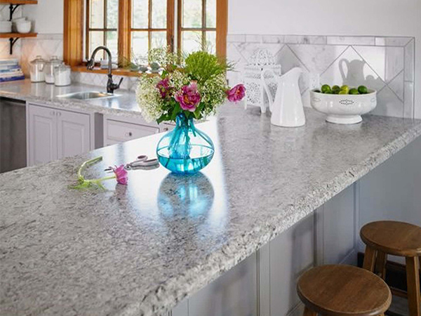 Grey laminate countertop example